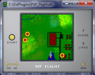 psp flight VST game