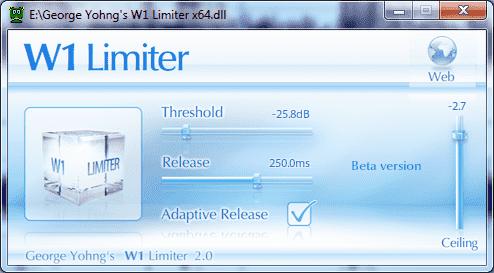 W1 Limiter free VST plugin