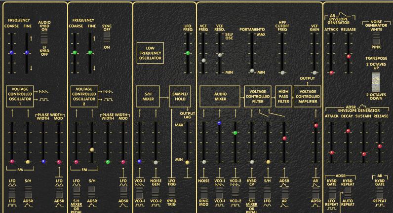 Oddy Free VST arp odyssey emulation!
