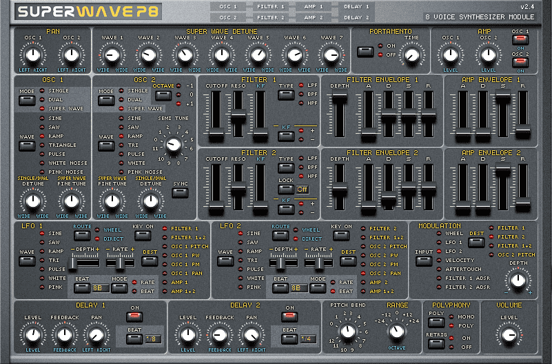 Superwave P8 : jp-8000 emulation for free