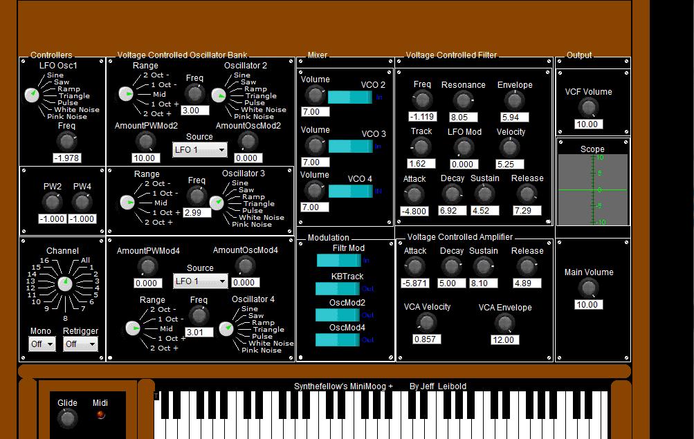 Synthfellow Minimoog+ VST