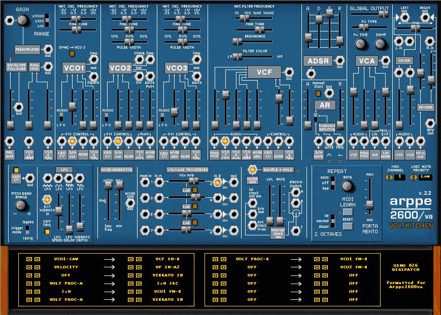 Arp 2600 VA VST