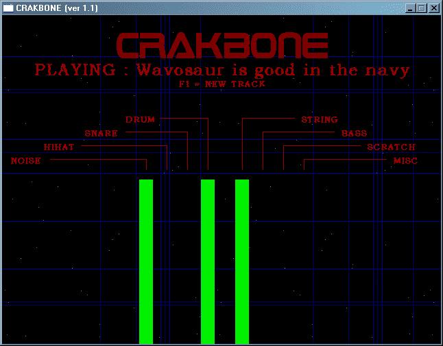 Crakbone random song maker software