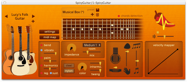Spicy Guitar ! the free guitar emulation