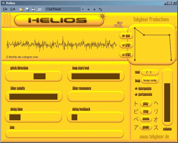 Tobybear Helios VST