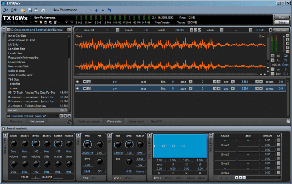 TX16Wx sampler VST
