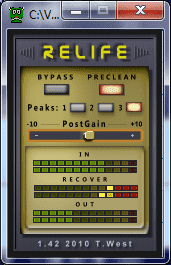Relife 1.42 by Terry West : free declipper VST