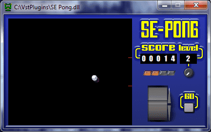 SE Pong VST by syntheditor2thebone
