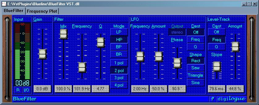 Blue Filter VST