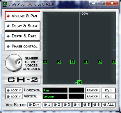 5 free VST effects for voice : doubler, chorus, pitch