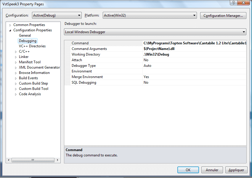 Debugging VST 2 4 part 1 : Visual Studio | Blogosaur