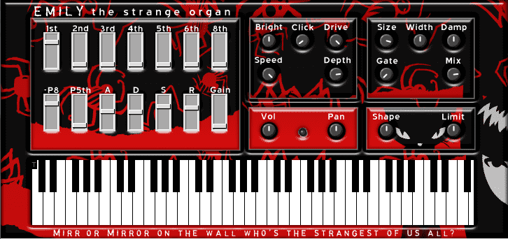 Emily the strange organ VST