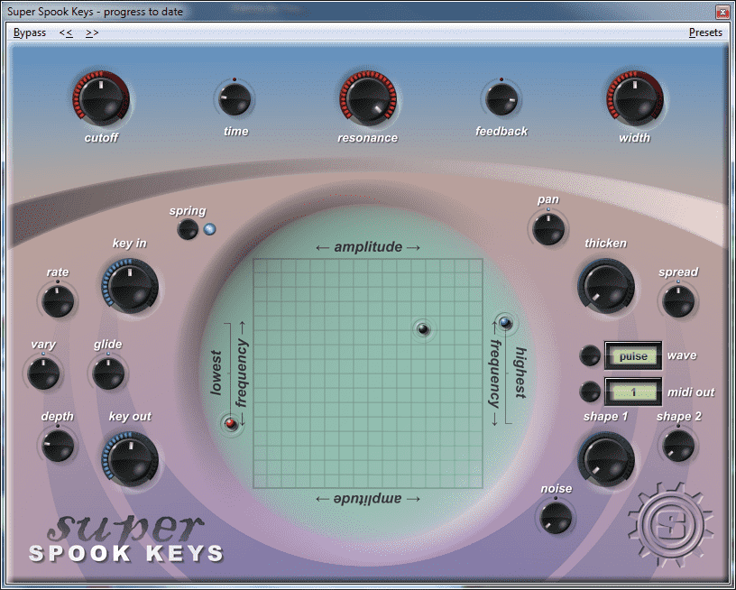 Super Spook Keys VST