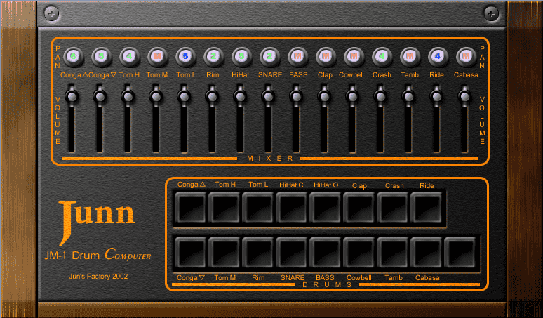 JM-1 Drum computer VST