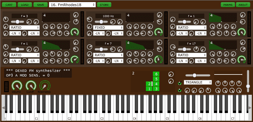 Dexed free fm synth