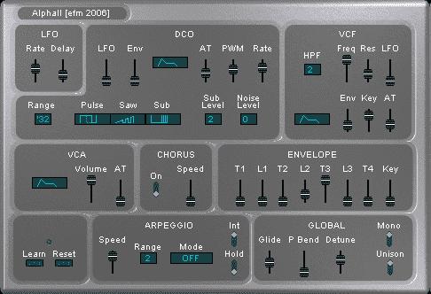 EFM alpha II