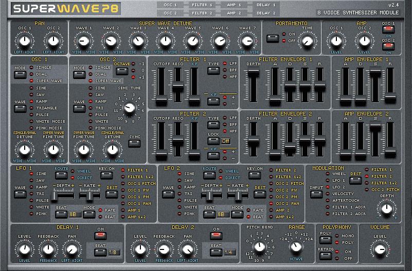 Superwave P8 : jp-8000 emulation for free