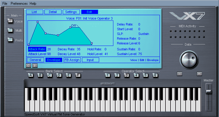 VX7 free FM Synth plugin