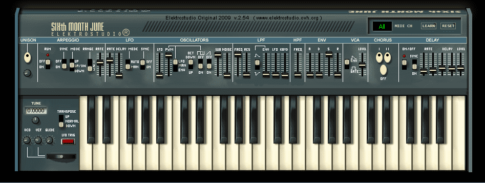 SIXth MONTH JUNE VST Roland Juno VSTi