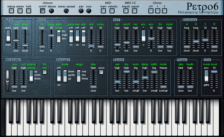 Juno 6 open source VST