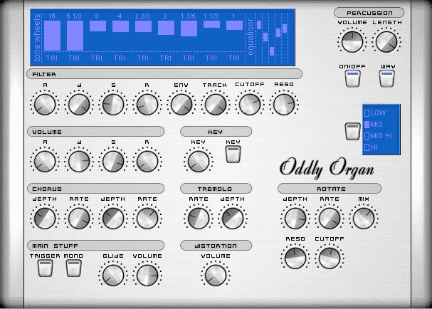 Oddly Organ