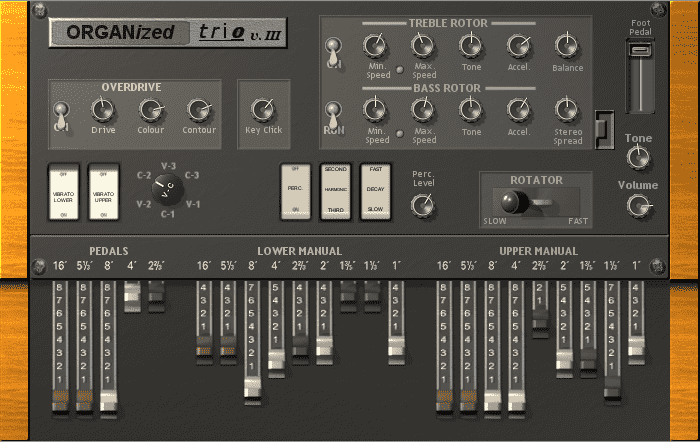 Organized Trio VST