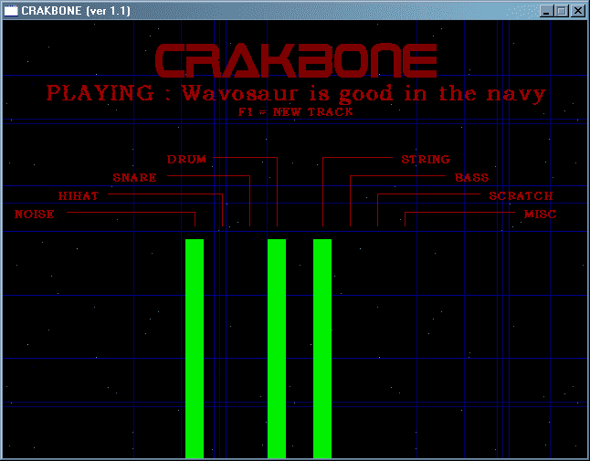 Crakbone random song maker software