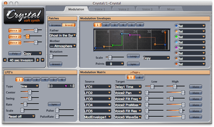 Crystal Synth Plugin