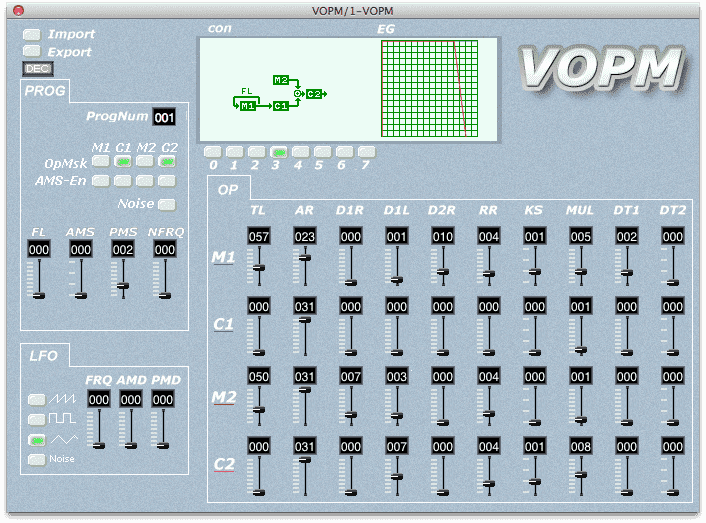 VOPM VST synth