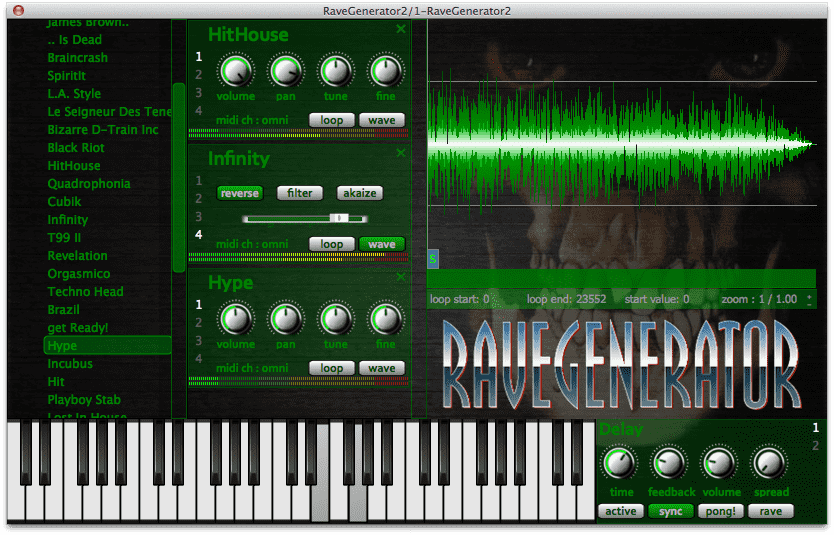 RaveGenerator 2 is coming on MAC